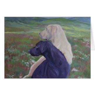 Labrador Retriever Rescue Scotland Card