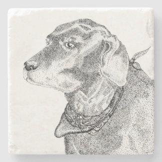 Labrador Retriever stone coaster