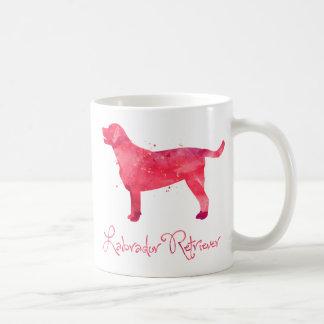 Labrador Retriever Watercolor Design Coffee Mug