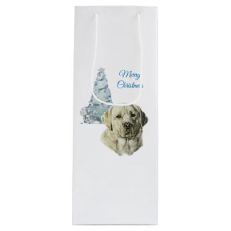 Labrador Retriever Wine Gift Bag