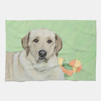Labrador Retriever (Yellow) Kitchen Towel