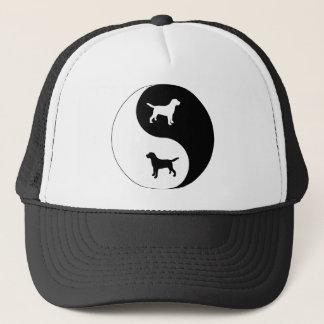 Labrador Retriever Yin Yang Trucker Hat