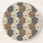Labrador Retrievers Coaster