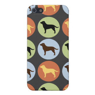 Labrador Retrievers Pattern iPhone 5/5S Covers