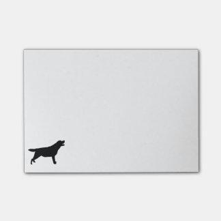 Labrador Retriver hunting dog Silhouette Post-it® Notes