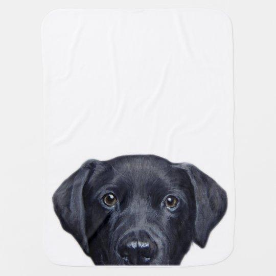 Labrador Swaddle Blanket
