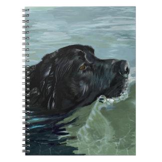 Labrador Swimming Notebooks