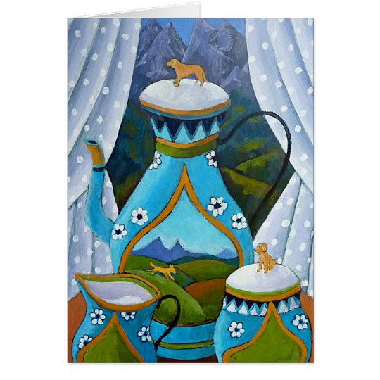 Labrador Tea Set Card