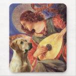 Labrador (Y8) - Mandolin Angel Mouse Mat