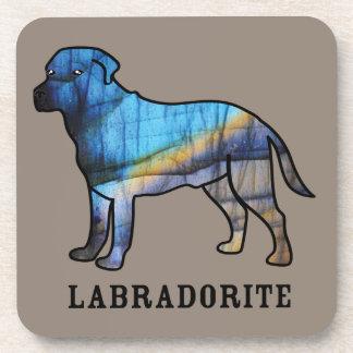 Labradorite Beverage Coasters