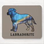 Labradorite Mousepads