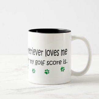 LabradorRetriever Two-Tone Coffee Mug