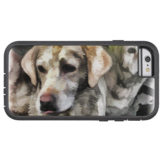 labradors fun in the mud tough xtreme iPhone 6 case