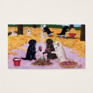 Labradors Thank You Card