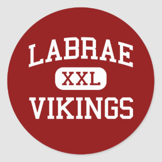 Labrae - Vikings - Middle - Leavittsburg Ohio Classic Round Sticker