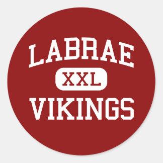 Labrae - Vikings - Middle - Leavittsburg Ohio Round Sticker