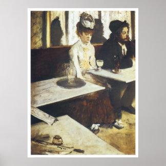 L'Absinthe, 1876 Poster
