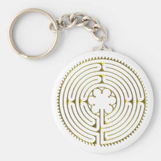 Labyrinth Chartres Keychain