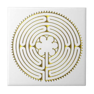 Labyrinth Chartres Tile