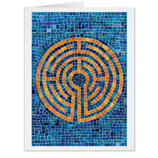Labyrinth IV Big Greeting Card