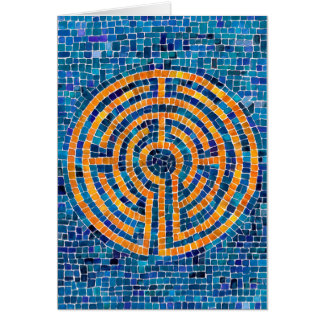 Labyrinth IV Blank Notecard