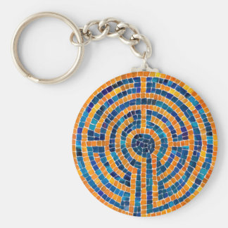 Labyrinth IV Button Keychain