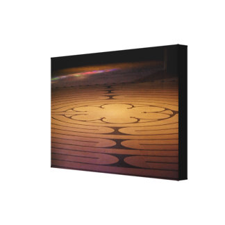 Labyrinth Light Canvas Print