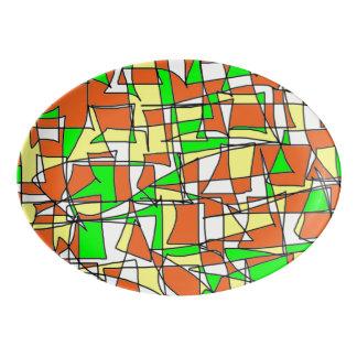 Labyrinth Maze Platter