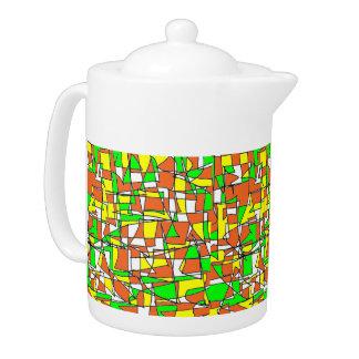 Labyrinth Maze Teapot