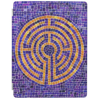 Labyrinth Mosaic ipad 2/3/4 cover iPad Cover