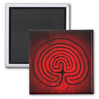 Labyrinth mysticism magnet
