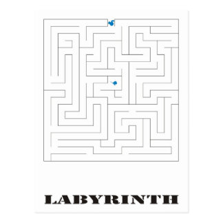 Labyrinth Postcard