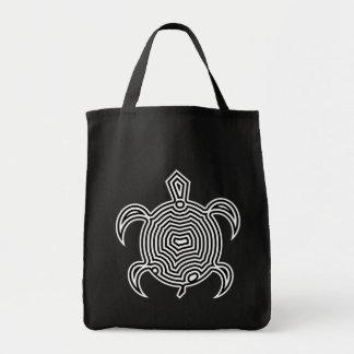 Labyrinth Turtle Dark Bags