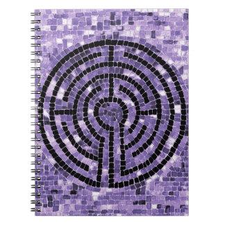 Labyrinth VI Photo Notebook