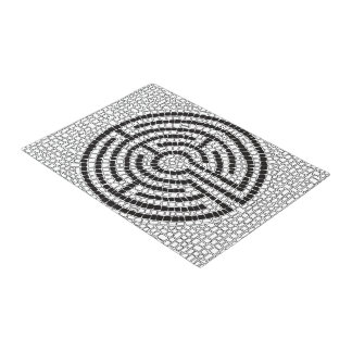 Labyrinth VII Doormat