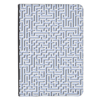 Labyrinthe bleu d'Alice dans un jardin anglais de Coque Kindle Touch