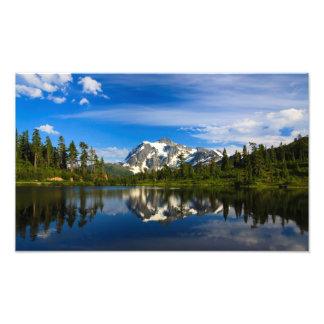 Lac reflection de Baker de bâti Impressions Photographiques