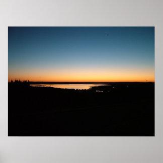Lac santa Rosa, N.M. Poster