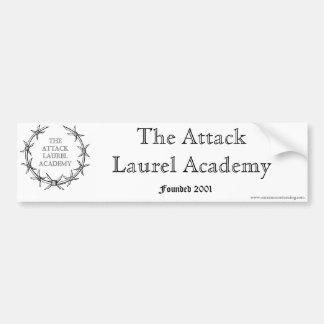 L'académie de laurier d'attaque autocollant de voiture