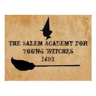 L'académie de Salem pour de jeunes sorcières Cartes Postales