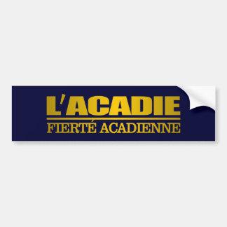L'Acadie Bumper Sticker