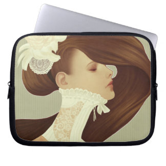 'Lace' 10 inch Laptop Sleeve
