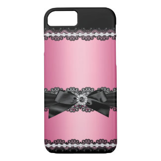 Lace and bow iPhone 7 case