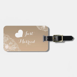 Lace and Floral Luggage Tags
