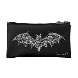 Lace Bat Makeup Bag