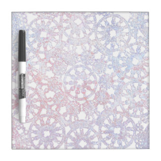 lace blue red pattern image wheel Dry-Erase whiteboard