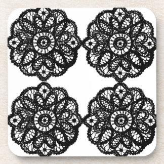 Lace Coasters