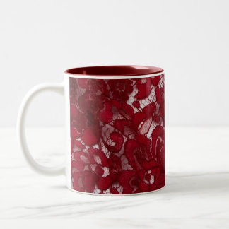 Lace coffee mug