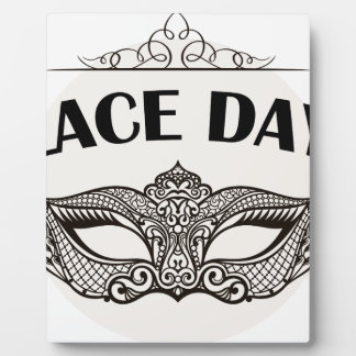 Lace Day - Appreciation Day Plaque