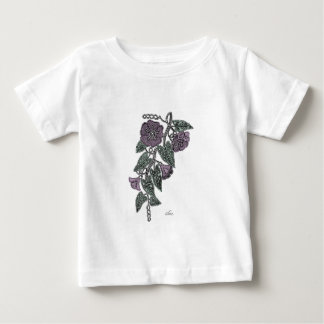 Lace Flowers Baby T-Shirt